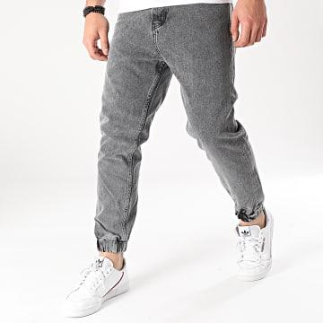 2Y Premium - Jogger Pant Jean B5873 Gris Chiné