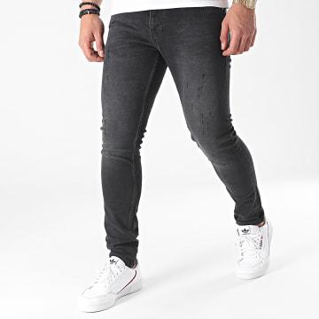2Y Premium - Jean Skinny B5904 Gris Anthracite
