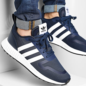 Adidas Originals - Baskets Multix FX5117 Collegiate Navy Footwear White Dash Grey