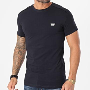 Antony Morato - Tee Shirt MMKS01826 Bleu Marine