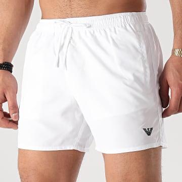 Emporio Armani - Short De Bain 211752-1P438 Blanc