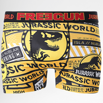 Freegun - Boxer Jurassic World Jaune