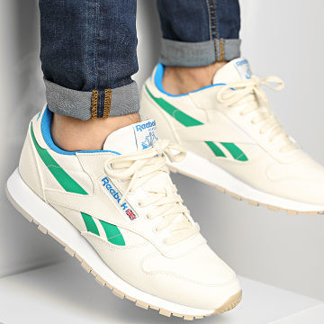 Reebok - Baskets Classic Leather Grow S23902 Chalk Court Green Horizon Blue