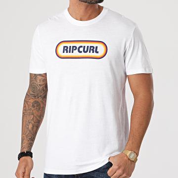 Rip Curl - Tee Shirt Surf Revival Hey Muma Blanc