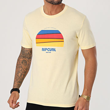 Rip Curl - Tee Shirt Surf Revival Hey Muma Jaune