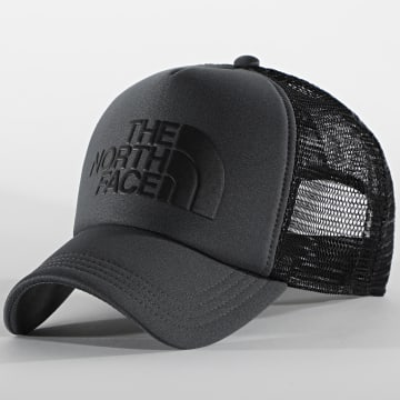 The North Face - Casquette Trucker TNF Logo A3FM3MN8 Gris Noir