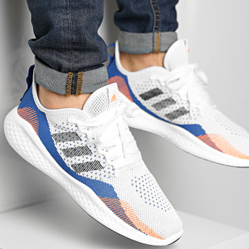 Adidas Performance - Baskets Fluid Flow 2 FY5959 Footwear White Core Black Royal Blue