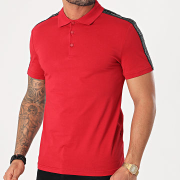 Antony Morato - Polo Manches Courtes A Bandes MMKS01849 Rouge