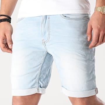 Blend - Short Jean Twister 20711773 Bleu Wash
