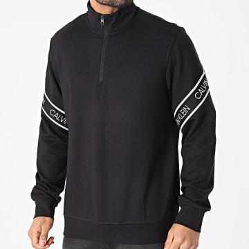 Calvin Klein - Sweat Col Zippé PW GMS1W332 Noir