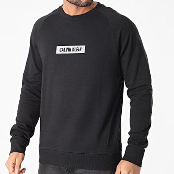 Calvin Klein - Sweat Crewneck GMS1W360 Noir Réfléchissant