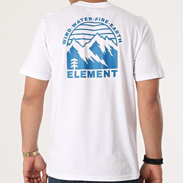 Element - Tee Shirt Foxwood Blanc