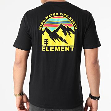 Element - Tee Shirt Foxwood Noir