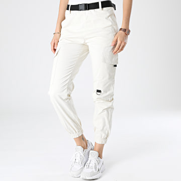 Girls Outfit - Jogger Pant Femme C9050 Ecru