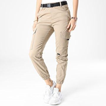 Girls Outfit - Jogger Pant Femme C9050 Beige