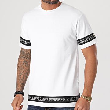 John H - Tee Shirt XW916 Blanc Renaissance Réfléchissant