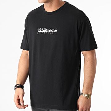 Napapijri - Tee Shirt S-Box A4FF5 Noir