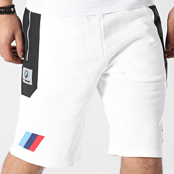 Puma - Short Jogging BMW Motorsport 599488 Ecru