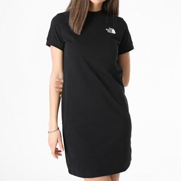 The North Face - Robe Tee Shirt Femme A5583 Noir