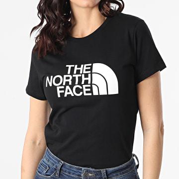 The North Face - Tee Shirt Femme Easy A4T1QJK3 Noir