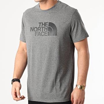 The North Face - Tee Shirt Easy A2TX3JBV Gris Chiné