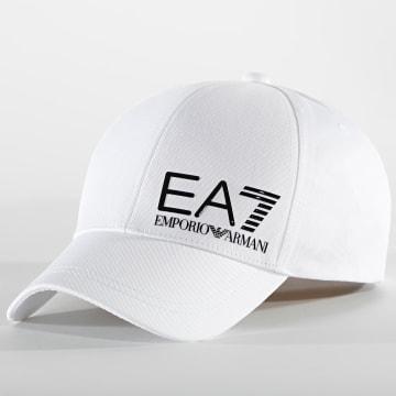 EA7 Emporio Armani - Casquette Big Logo 275936-1P103 Blanc