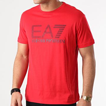 EA7 Emporio Armani - Tee Shirt 3KPT81-PJM9Z Rouge