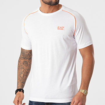 EA7 Emporio Armani - Tee Shirt 3KPT04-PJM9Z Blanc