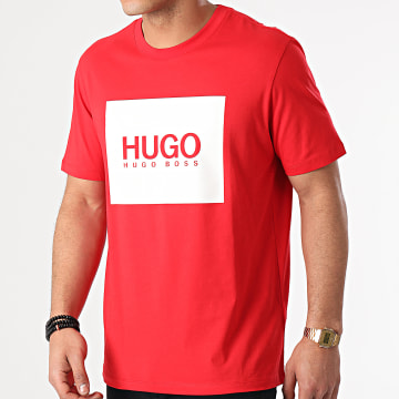 HUGO - Tee Shirt Dolive U212 50448795 Rouge