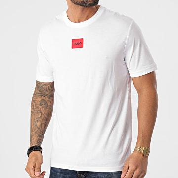 HUGO - Tee Shirt Diragolino 212 50447978 Blanc