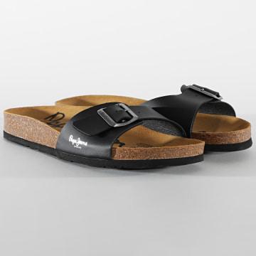 Pepe Jeans - Sandales Bio Classic MFR PMS90090 Black