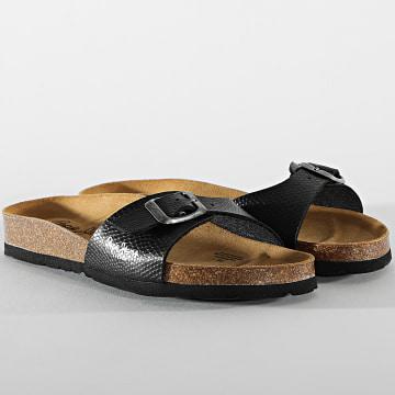 Pepe Jeans - Sandales Femme Oban Basic PLS90526 Noir