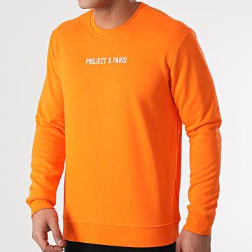Project X - Sweat Crewneck 2120093 Orange
