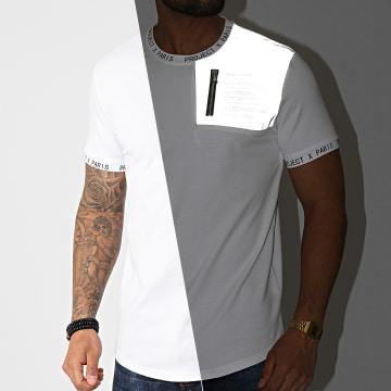 Project X - Tee Shirt Oversize 2110148 Blanc Réfléchissant Camouflage