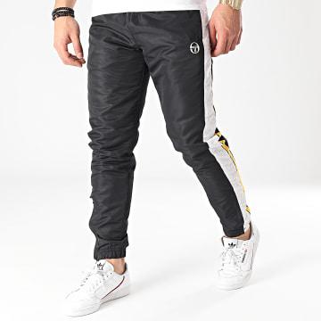 Sergio Tacchini - Pantalon Jogging A Bande Ansley 39169 Noir