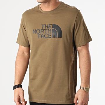 The North Face - Tee Shirt Easy A2TX3 Vert Kaki