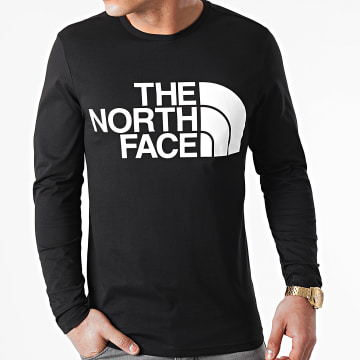The North Face - Tee Shirt Manches Longues Standard A5585 Noir