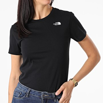 The North Face - Tee Shirt Simple Dome Femme A4T1AJK3 Noir