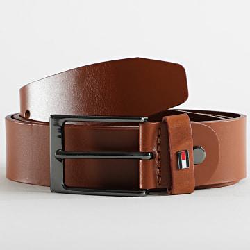Tommy Hilfiger - Ceinture Layton Leather Adjustable 7328 Marron