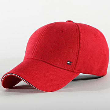 Tommy Hilfiger - Casquette Elevated Corporate 7346 Rouge