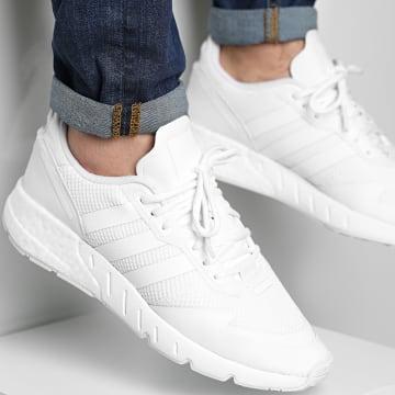 Adidas Originals - Baskets ZX 1K Boost FX6516 Cloud White
