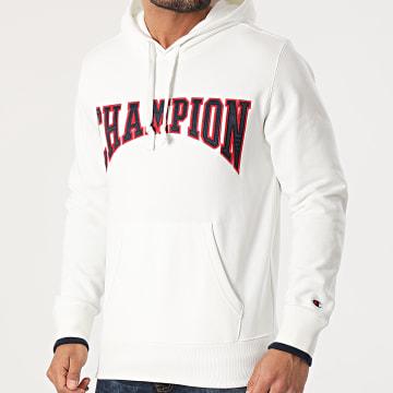 Champion - Sweat Capuche 215747 Ecru