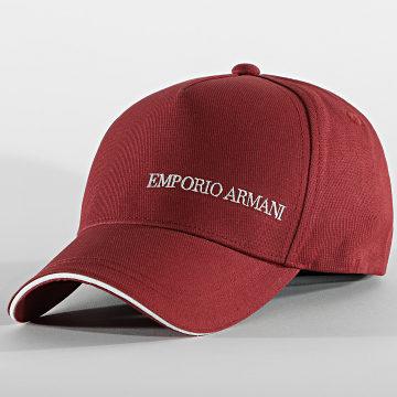 Emporio Armani - Casquette 627560-1P550 Bordeaux