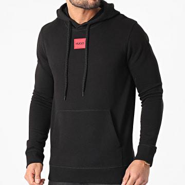 HUGO - Sweat Capuche Daratschi 212 50450471 Noir