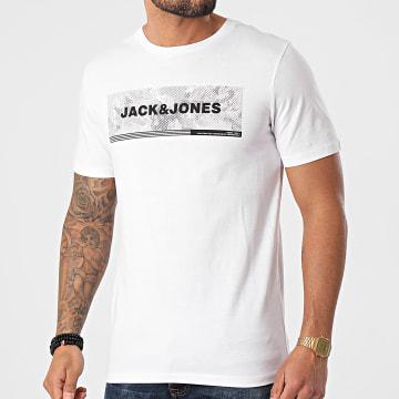 Jack And Jones - Tee Shirt Campa Blanc
