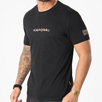 Kaporal - Tee Shirt Drift Noir