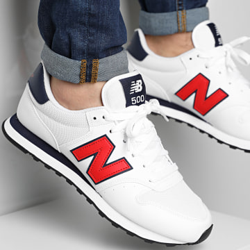 New Balance - Baskets Lifestyle 500 GM500TA1 White