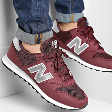 New Balance - Baskets Lifestyle 500 GM500BUS Bordeaux