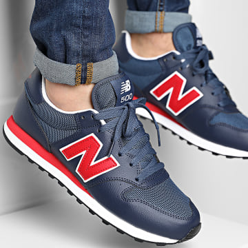 New Balance - Baskets Lifestyle 500 GM500TC1 Navy