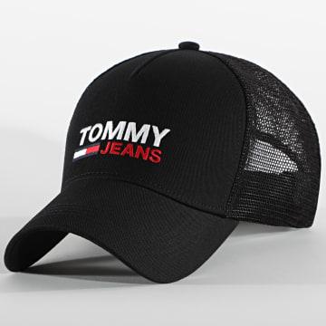 Tommy Jeans - Casquette Trucker Flag 7172 Noir
